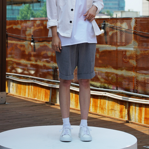 [유주얼에딧] Urbane Shorts(Gray)