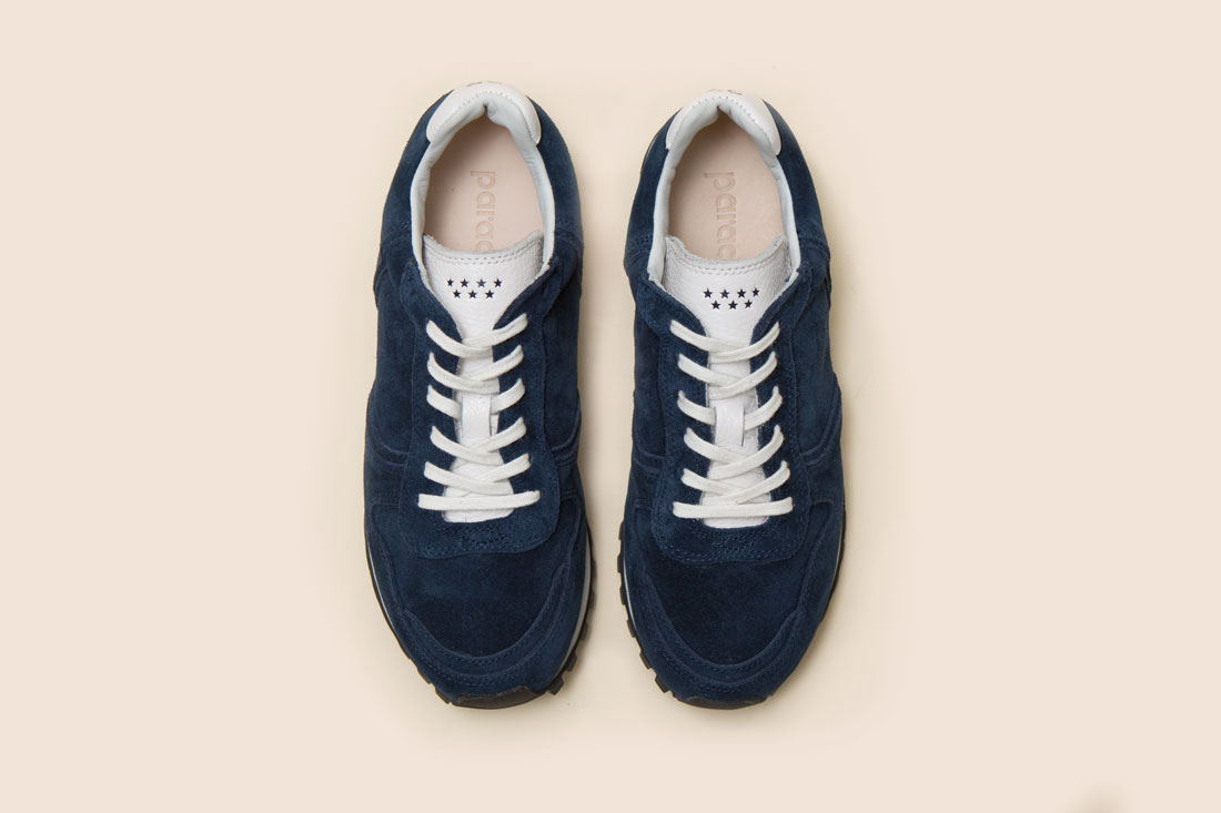 Retrola Vertigo Suede navy 스웨이드 네이비