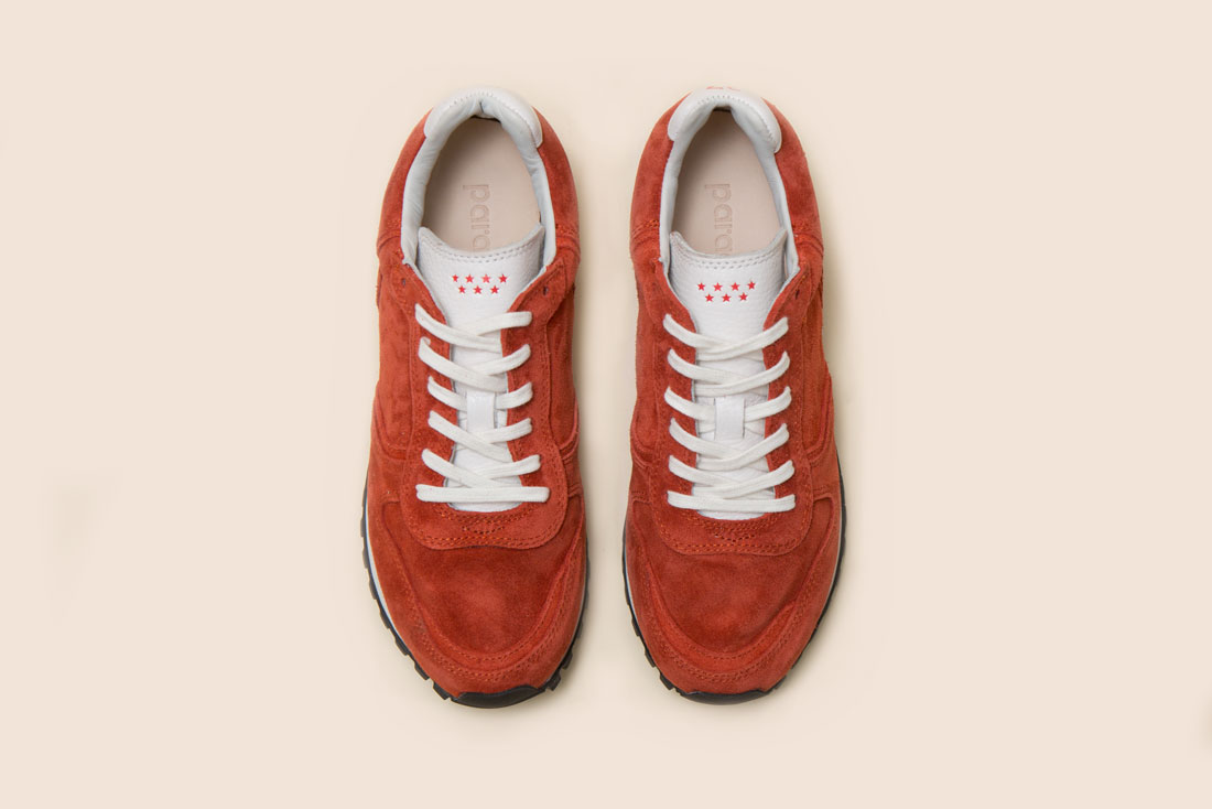 Retrola Vertigo Suede orange(red) 스웨이드 오렌지