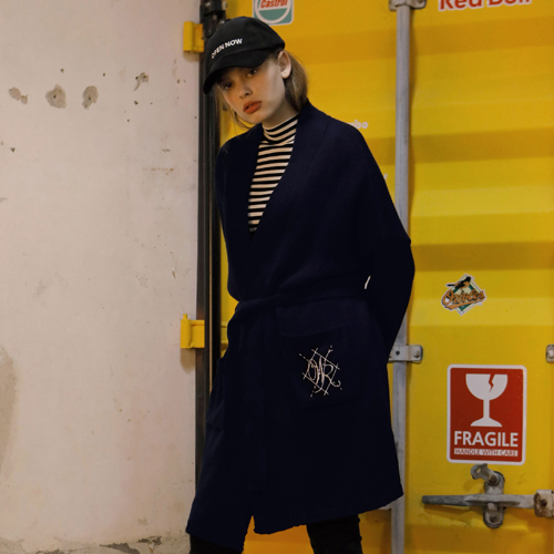 [와드로브] WR ROBE CARDIGAN_NAVY