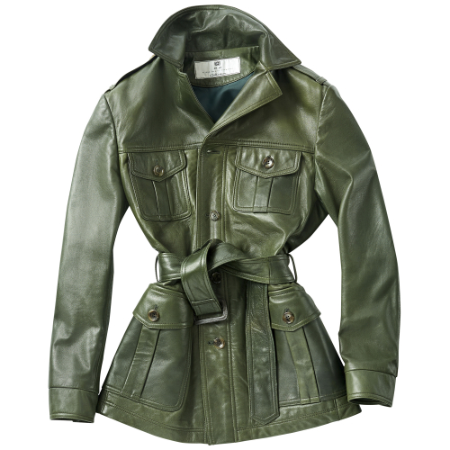 [암위] [AM.WE] Green Lambskin SAFARI