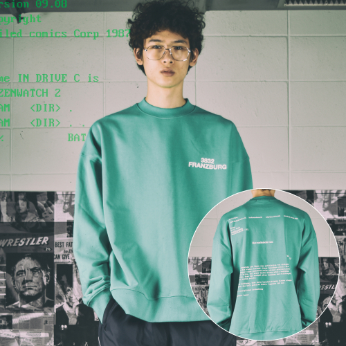 [하드보일드코믹스] FRANZBURG MOCKNECK ALL SEASON SWEAT SHIRTS