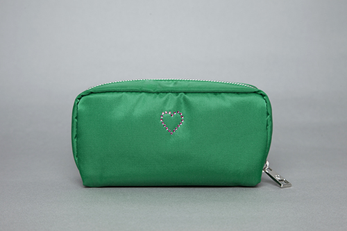 [헤이미스타타] crystal pouch (green)