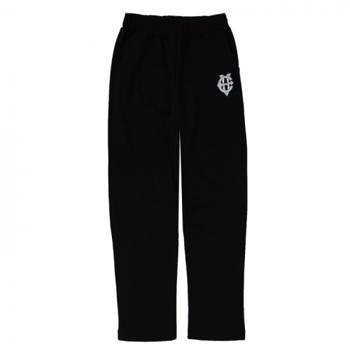 [에잇볼륨]EV Emblem Sweat Pants(Black)