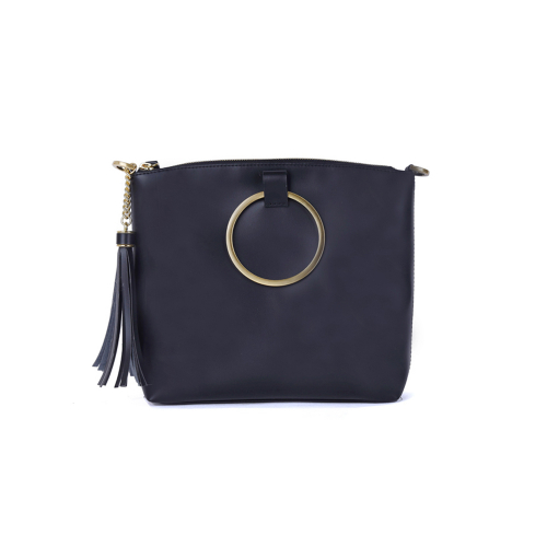 [HA.TISS] CONEY BLACK CROSS BAG