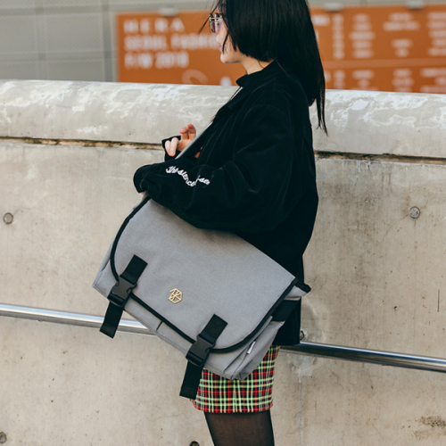 [DIEZ] ABSOLUTE MESSENGER BAG / GRAY