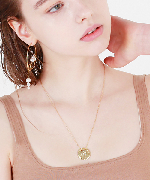 데라룬Coin Necklace[DL18SSNC08MTF]