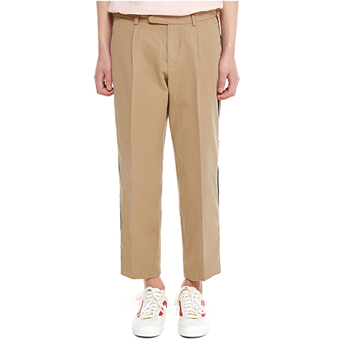 [텐모어]  SIGNATURE LINE PANTS - BEIGE