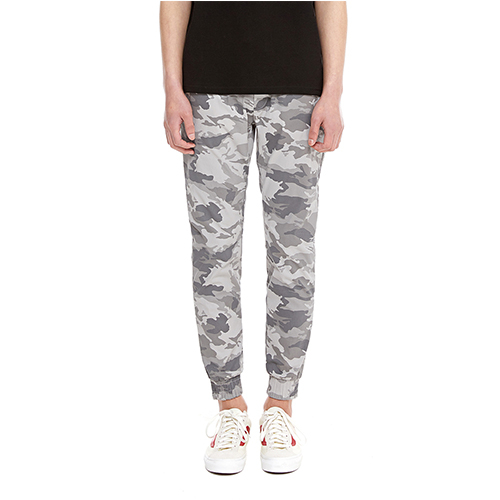 [텐모어]  CAMO SLIM JOGGER PANTS - GRAY