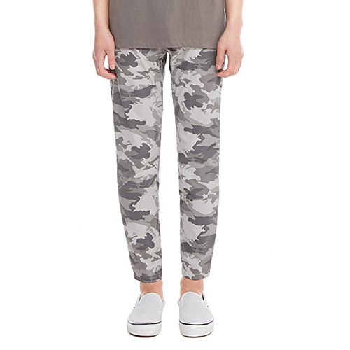 [텐모어]  CAMO SLIM  PANTS - GRAY