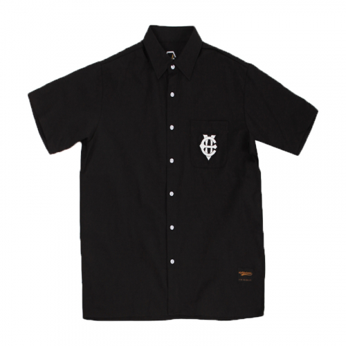 EV Short Sleeve Oxford Shirts (Black)