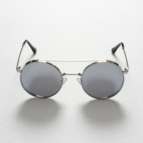 [고디크] Silver Circle Sunglasses [G8SD32U10]