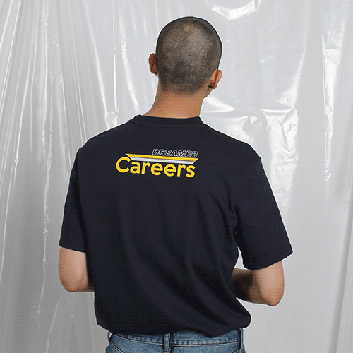 [고쉬스튜디오] CAREERS DREAMER T-SHIRTS(NAVY)