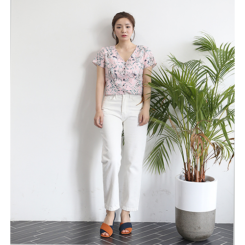 [플라이런웨이] 18S/S FLOWER SUMMER SHIRT