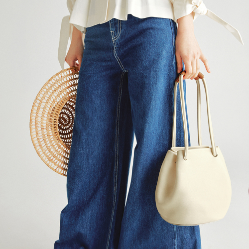 [조니조니] 2way bucket bag_Ivory