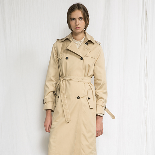 [조셉안] BEIGE TRENCH COAT