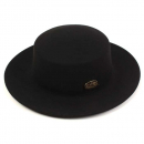 유니버셜케미스트리Flat GD Metal Wool BK Fedora