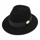 유니버셜케미스트리GD Metal Line Short BK Fedora