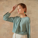 [유니스] [YouNess] Mint Canary Blouse