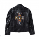[브라바도] [브라바도]GNR APPETITE LEATHER JACKET (BRENT1807)