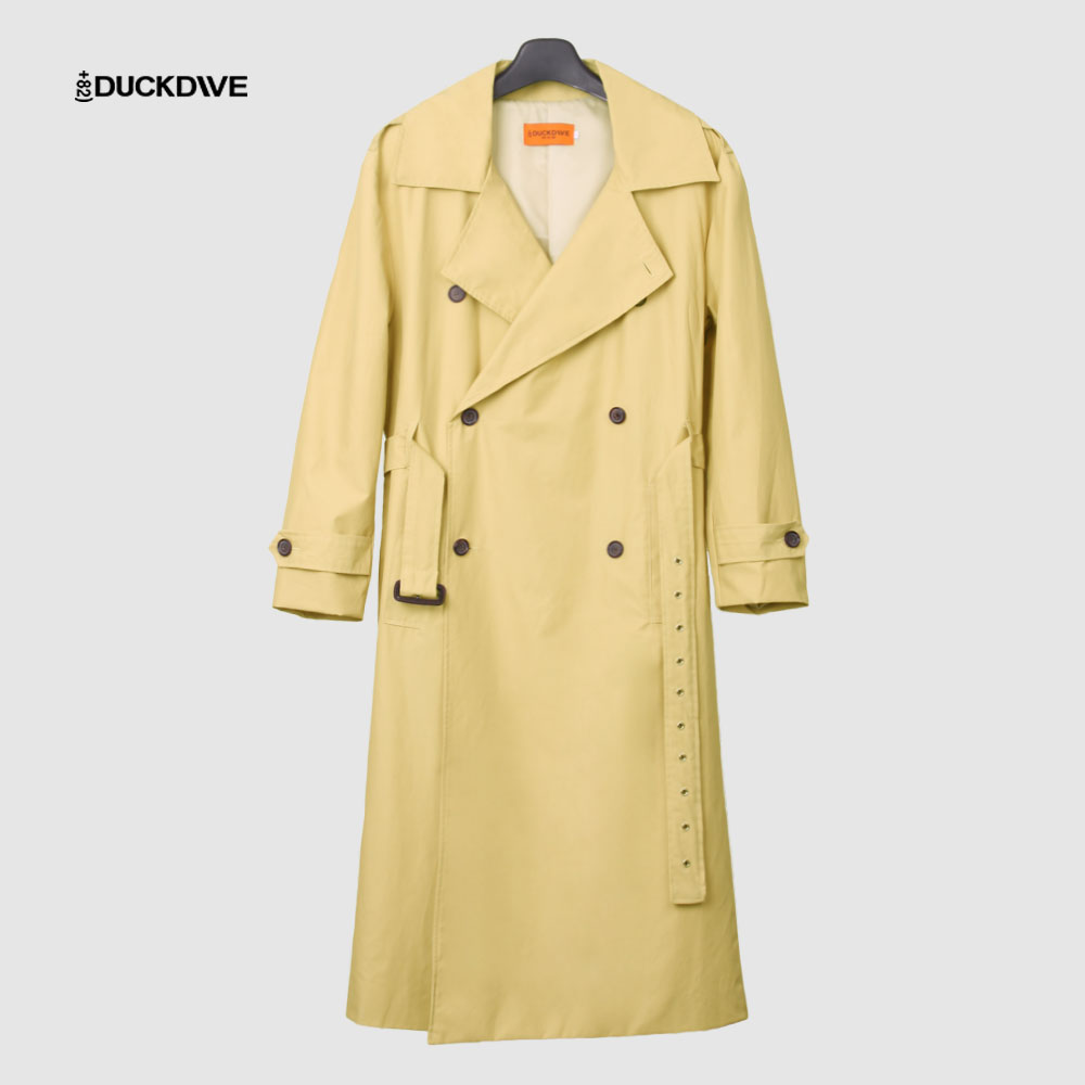 [덕다이브]O.S.L TRENCH COAT_LIGHT BEIGE
