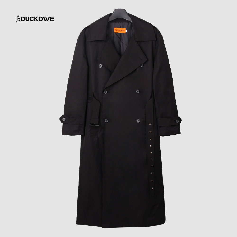 [덕다이브]O.S.L TRENCH COAT_BLACK