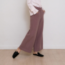 [노타] WARM WIDE PANTS (DUSTY PINK)