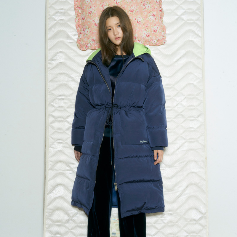 [더센토르] BABY COLORATION GOOSE DOWN LONG JUMPER [NAVY]