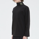 [filobisknot] logo turtleneck _ BLACK