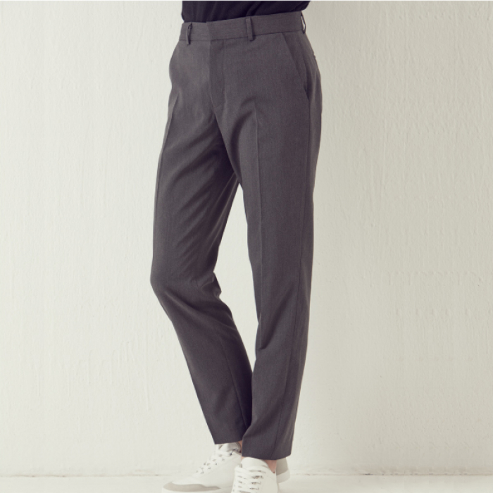 [아르테노] Set up Slacks - Grey
