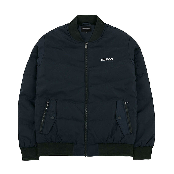 DUCK DOWN MA-1 - NAVY