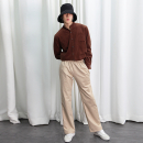 [라잇루트]LEOPARD STRAIGHT FIT BANDING PANTS [곽병호]