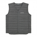 DUCK DOWN ULTRA LIGHT VEST - GRAY