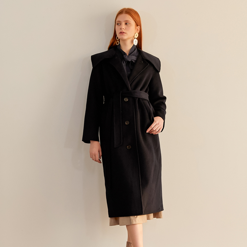 [엽페] COLLAR HANDMADE COAT_NAVY