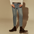[DEANS] CROP SLIM STRAIGHT JEAN_DENIM