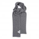 [아르테노] Wide Solid Muffler - Grey