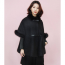 [민타레트로]Kelley Black Wool Cape
