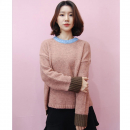 [민타레트로] Coral Brown Knit