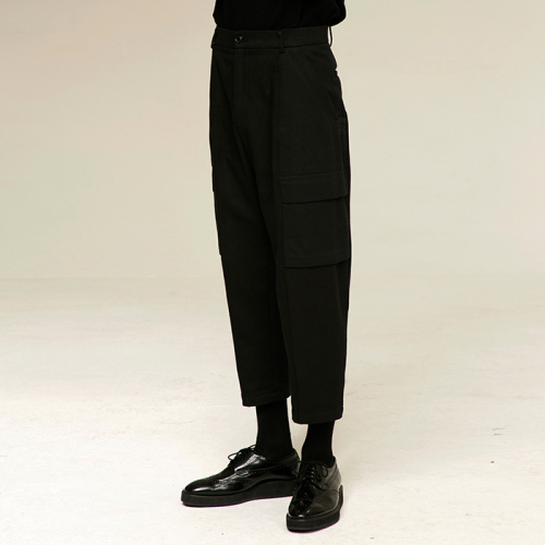 [노이어] [noirer]Cotton Field Baggy Pants