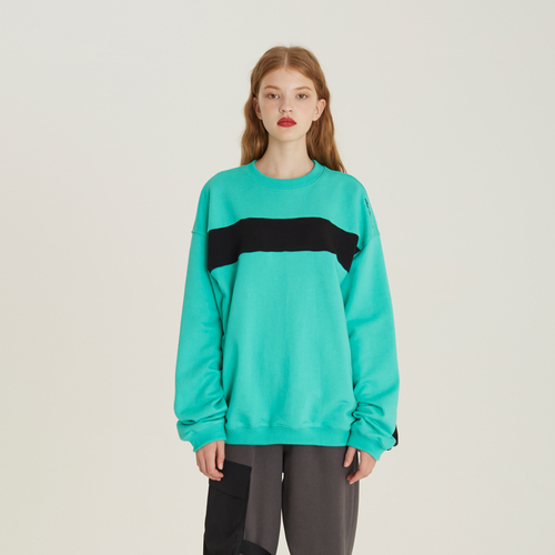 [디바이디그낙] Color Blocking Sweat Shirts(MI)