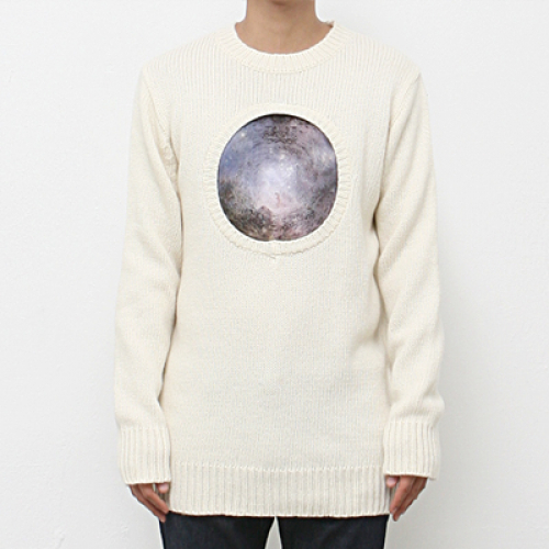 [북온더파크] BLACK HOLE KNIT