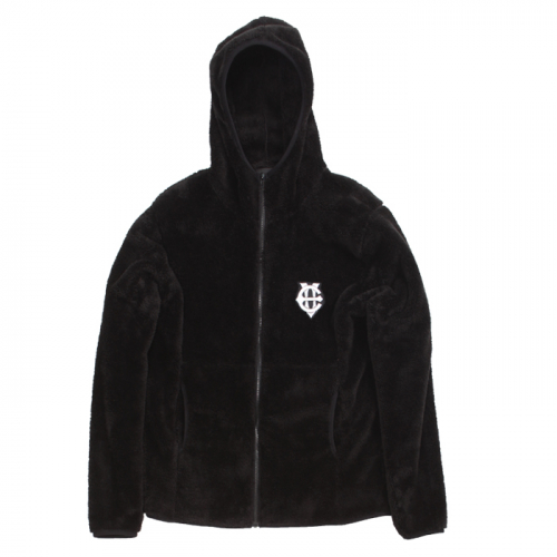 [에잇볼륨] EV Doublesided Fleece Hoodzip