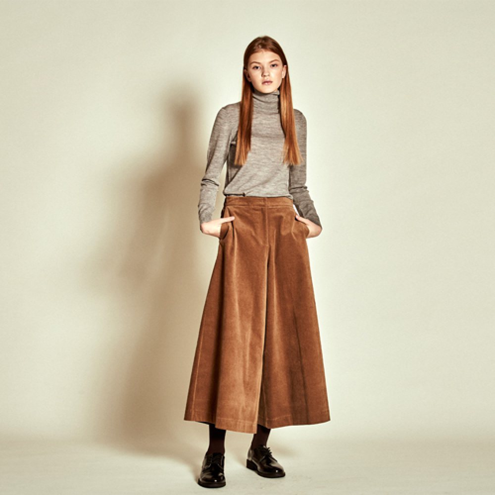 [더케이스토리] Corduroy Wide Pants_ Beige