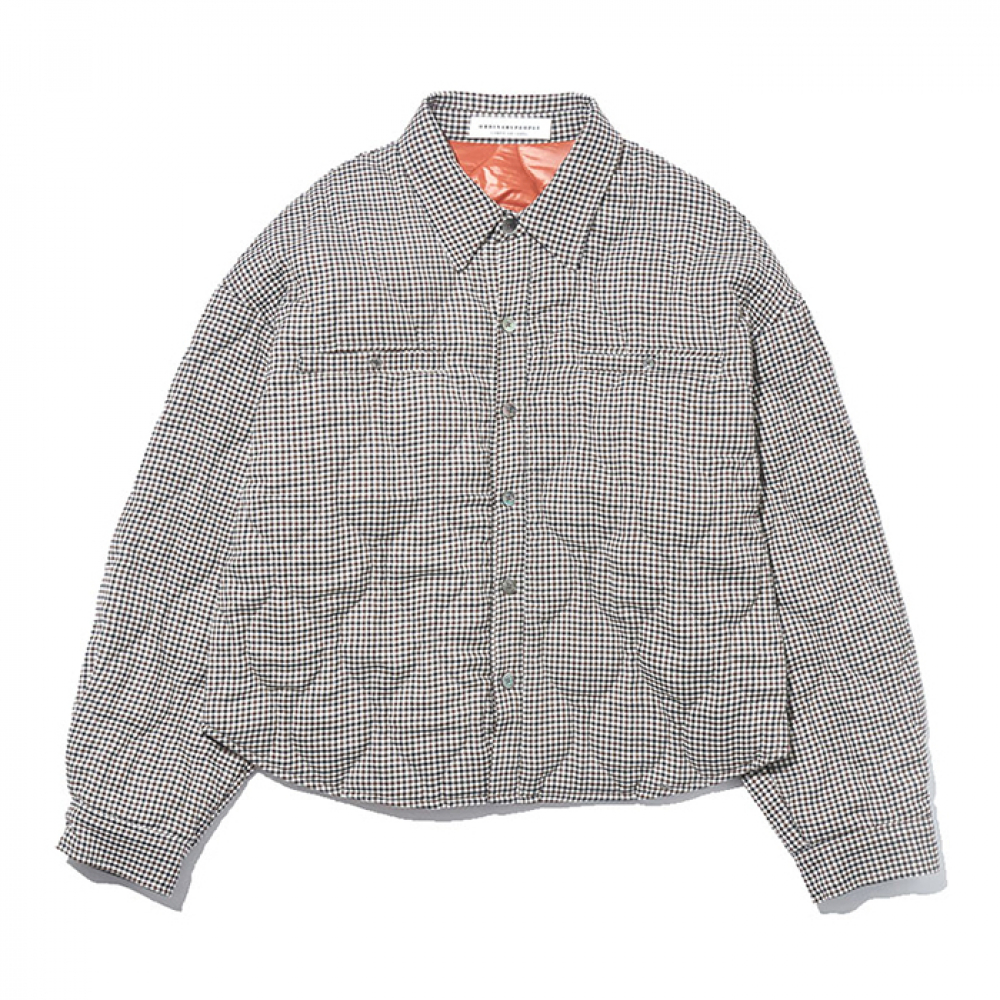 [오디너리피플]  quilttiing short shirt jacket