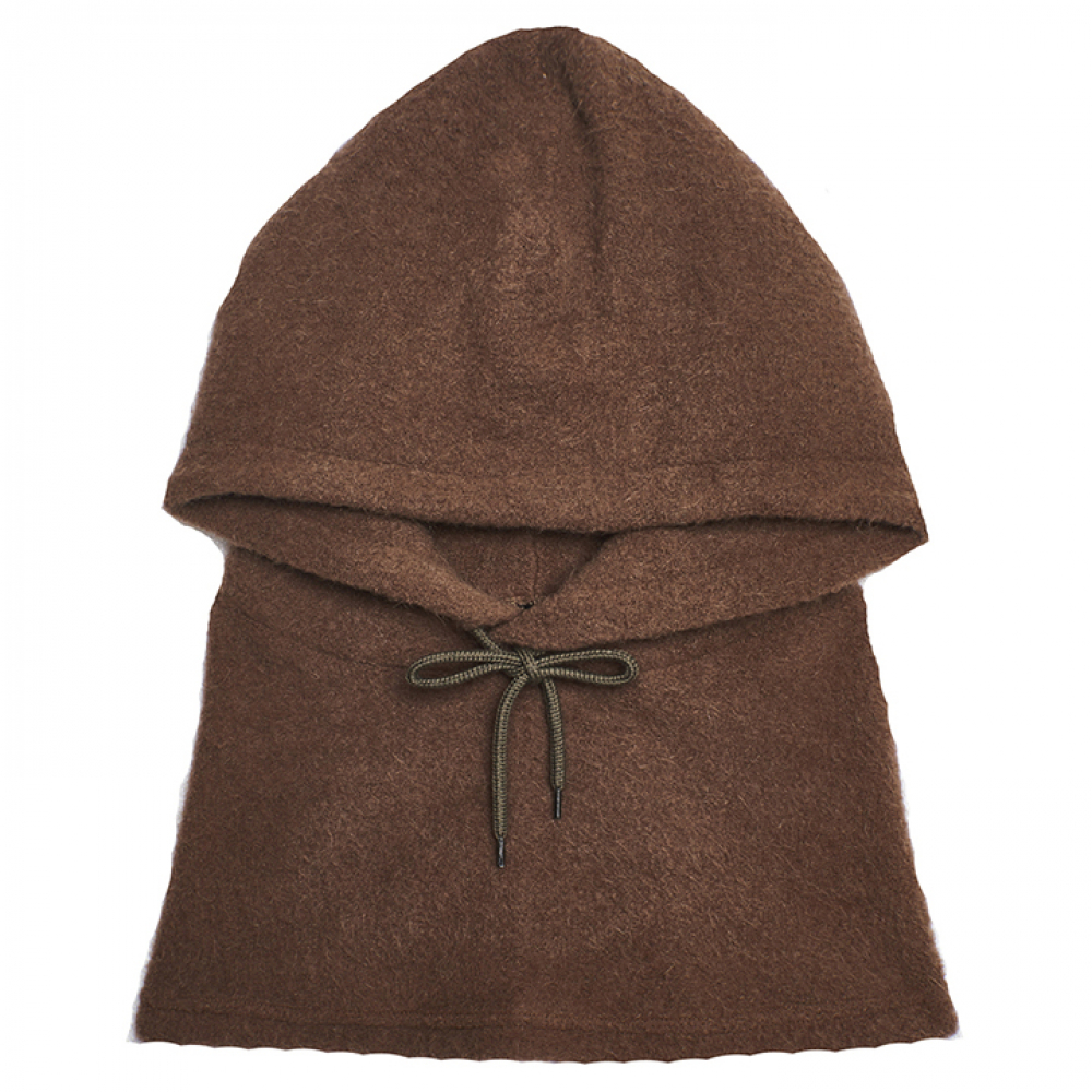 [써틴먼스] HOOD NECK WARMER (BROWN)