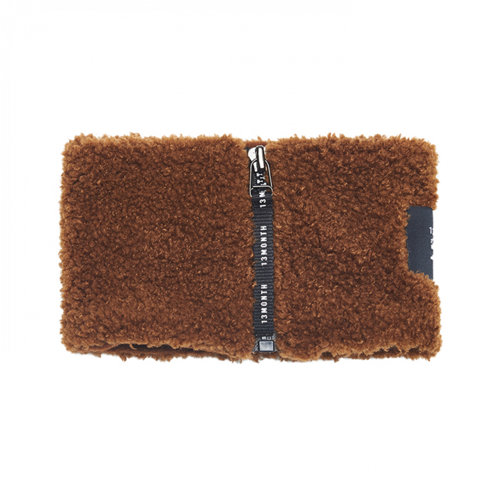 [써틴먼스] BOUCLE NECK WARMER (BROWN)