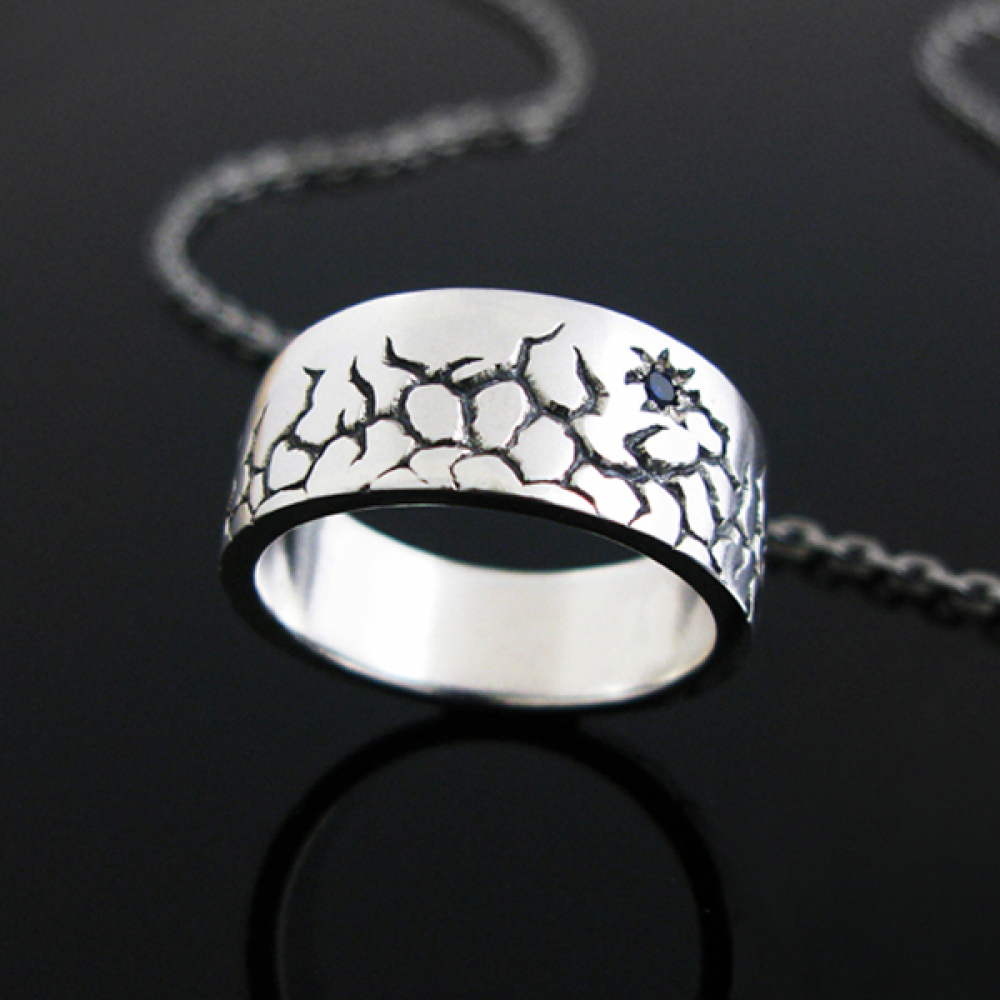 [스털링워스] Crevice silver ring