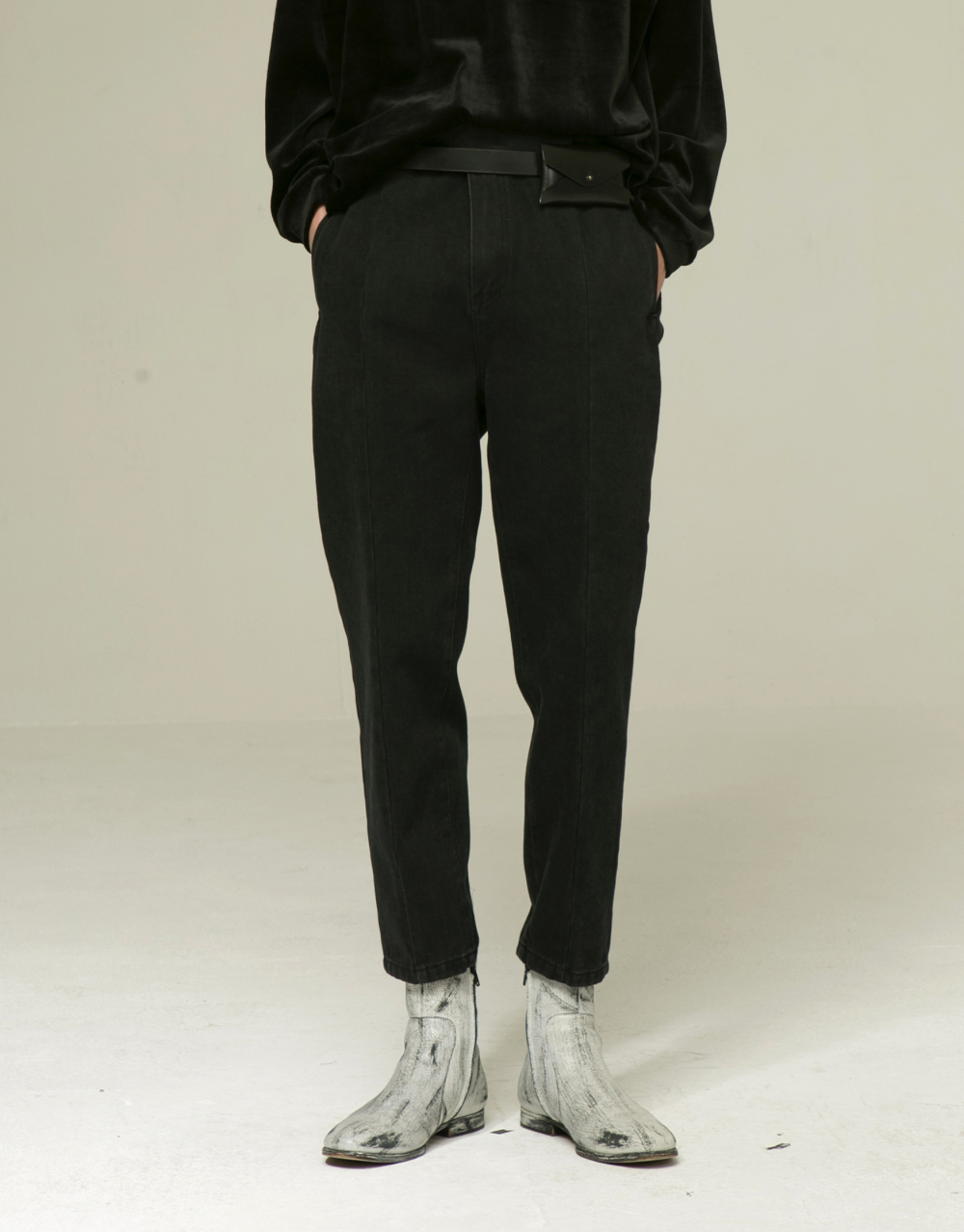 [노이어] Gurkha Denim Slim Pants