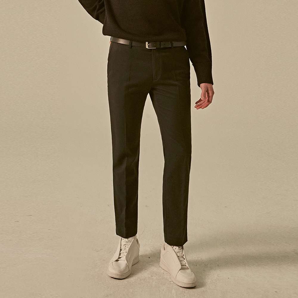 [딘스] SEMI FORMAL SLACKS_BLACK