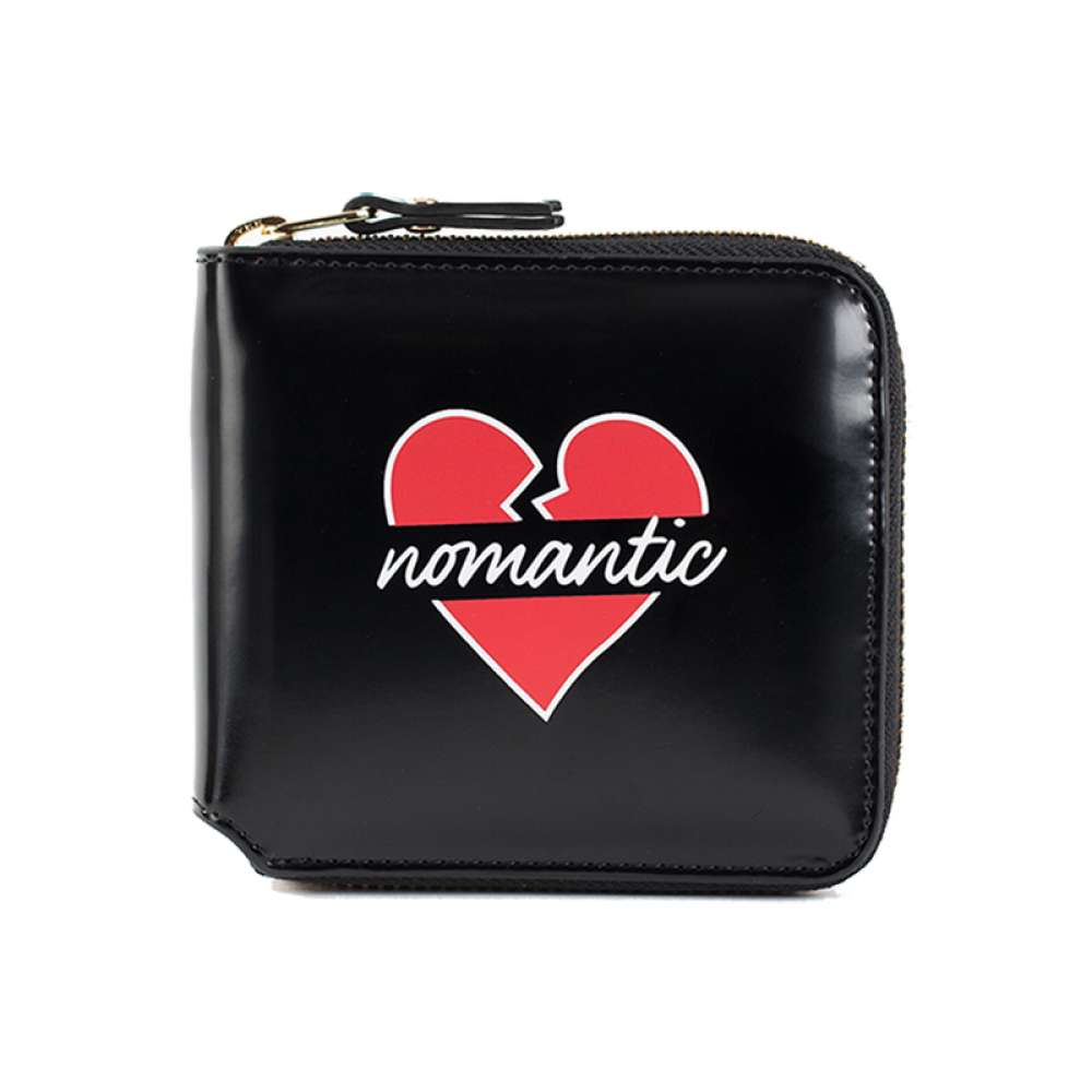 [비욘드클로젯] NOMANTIC LOGO WALLET BLACK
